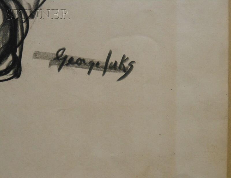 George Benjamin Luks (American, 1867-1933)      Hippo