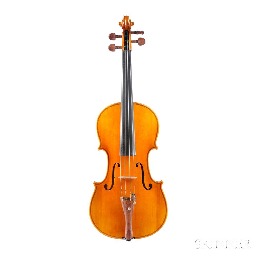 Modern Italian Violin, Claudio Fertitta, Cremona, 1997
