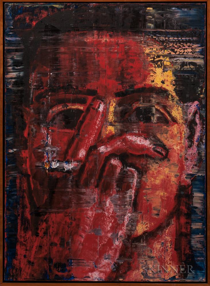 Aaron Fink (American, b. 1955)      Red Smoker