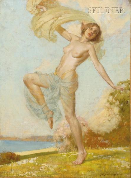 Frederick John Mulhaupt (American, 1871-1938)      Dancing Nymph