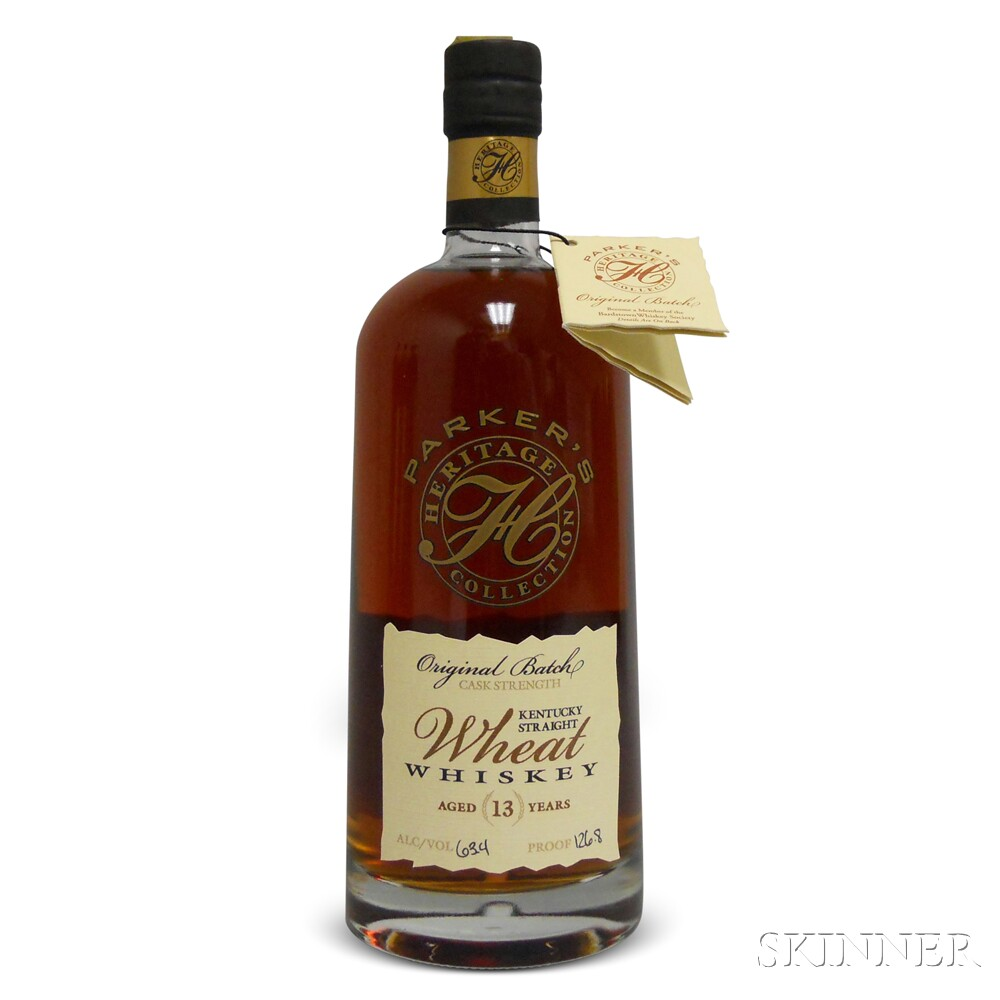 Parkers Heritage Collection Eighth Edition Wheat Whiskey 13 Years Old, 1 750ml bottle