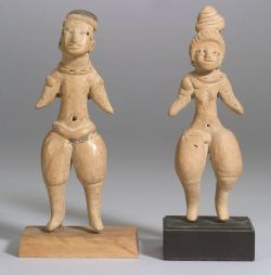 "Two Pre-Columbian ""Pretty Ladies,"""