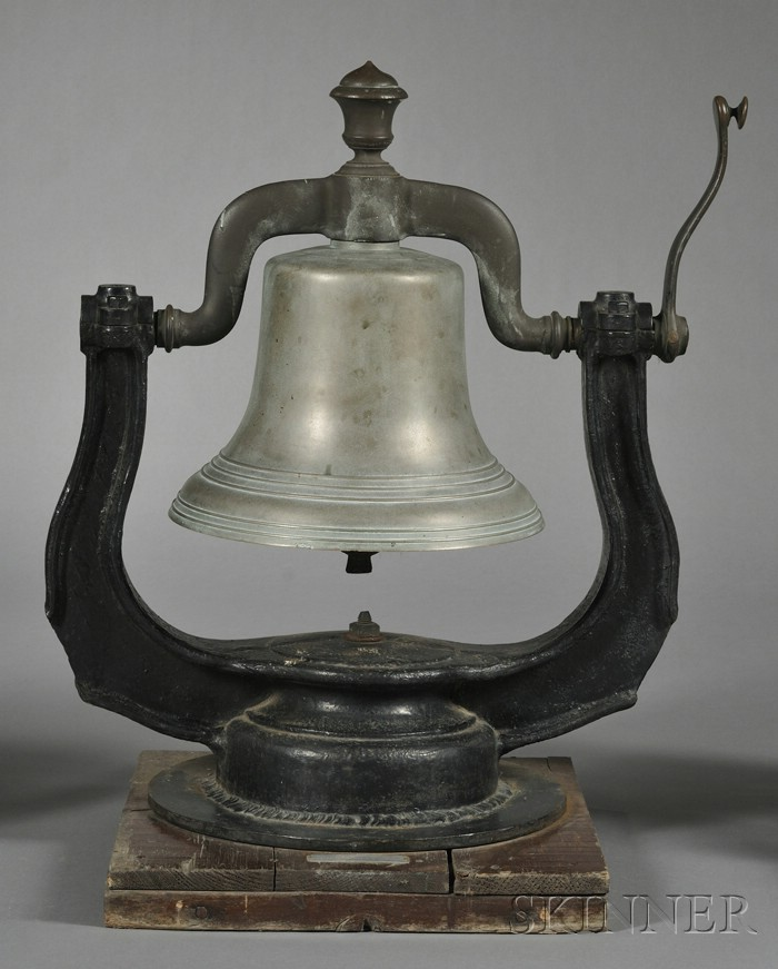 Boston & Maine Railroad Steam Locomotive Cast Bell-metal Bell