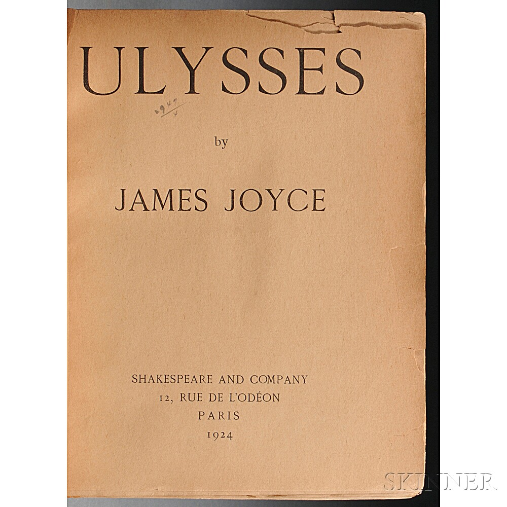 Joyce, James (1882-1941) Ulysses