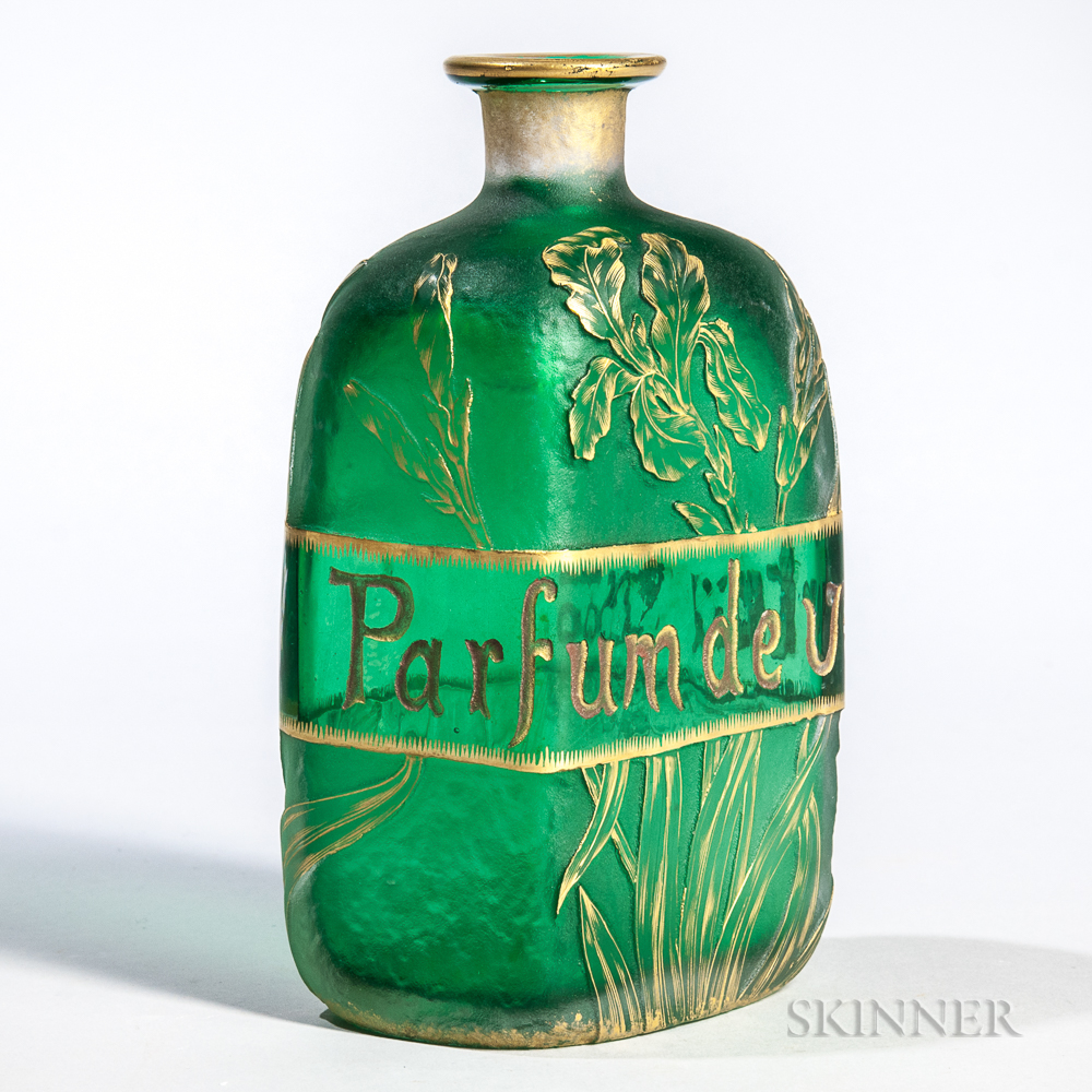 Early Daum Parfum de Vertus Bottle