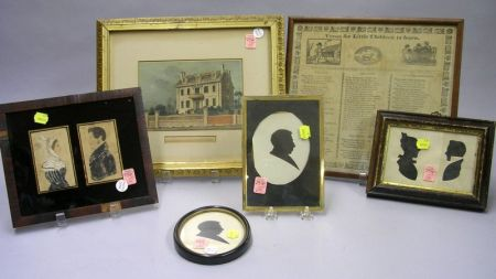 Six Assorted Framed Items