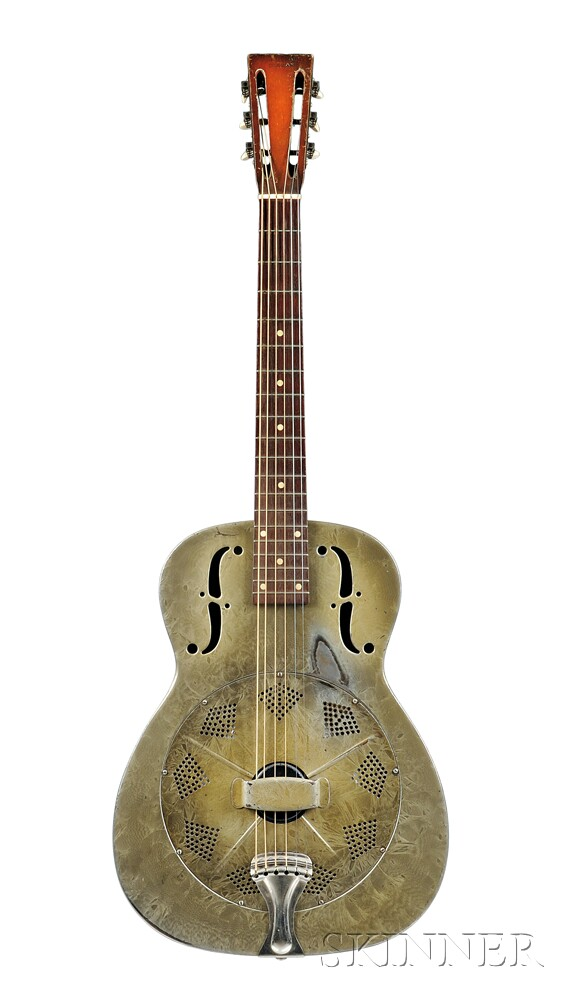 American Resonator Guitar, National String Instrument Company, 1934, Style Duolian