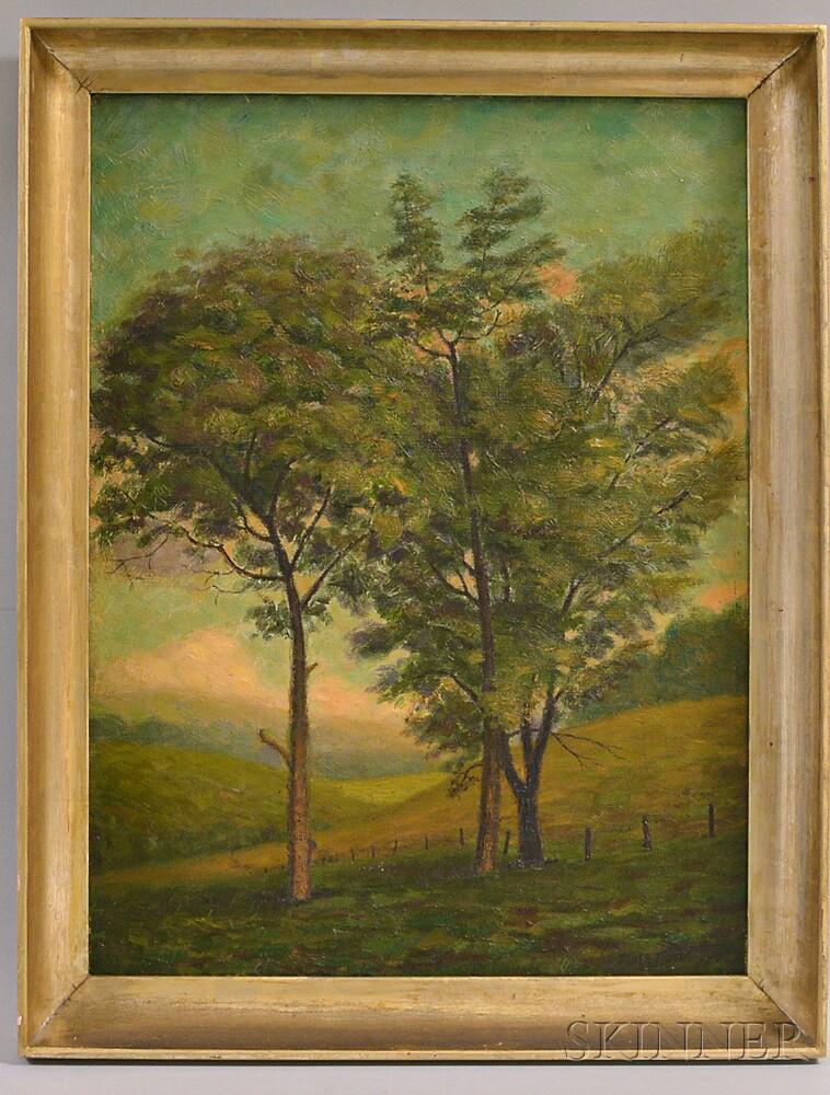 James Bonar (Pennsylvania, 1864-1942)       Countryside Landscape.