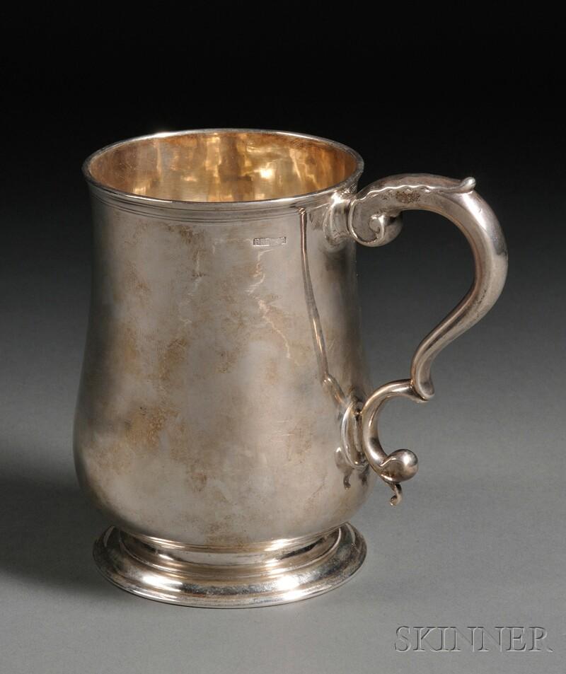 Paul Revere, Jr. Silver Cann