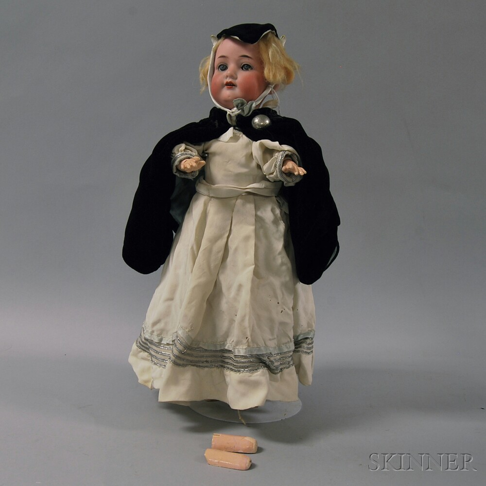 Armand Marseille 390 Bisque Head Doll