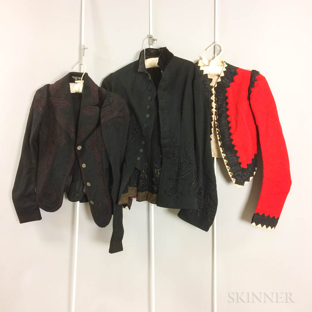 Group of Victorian Jackets