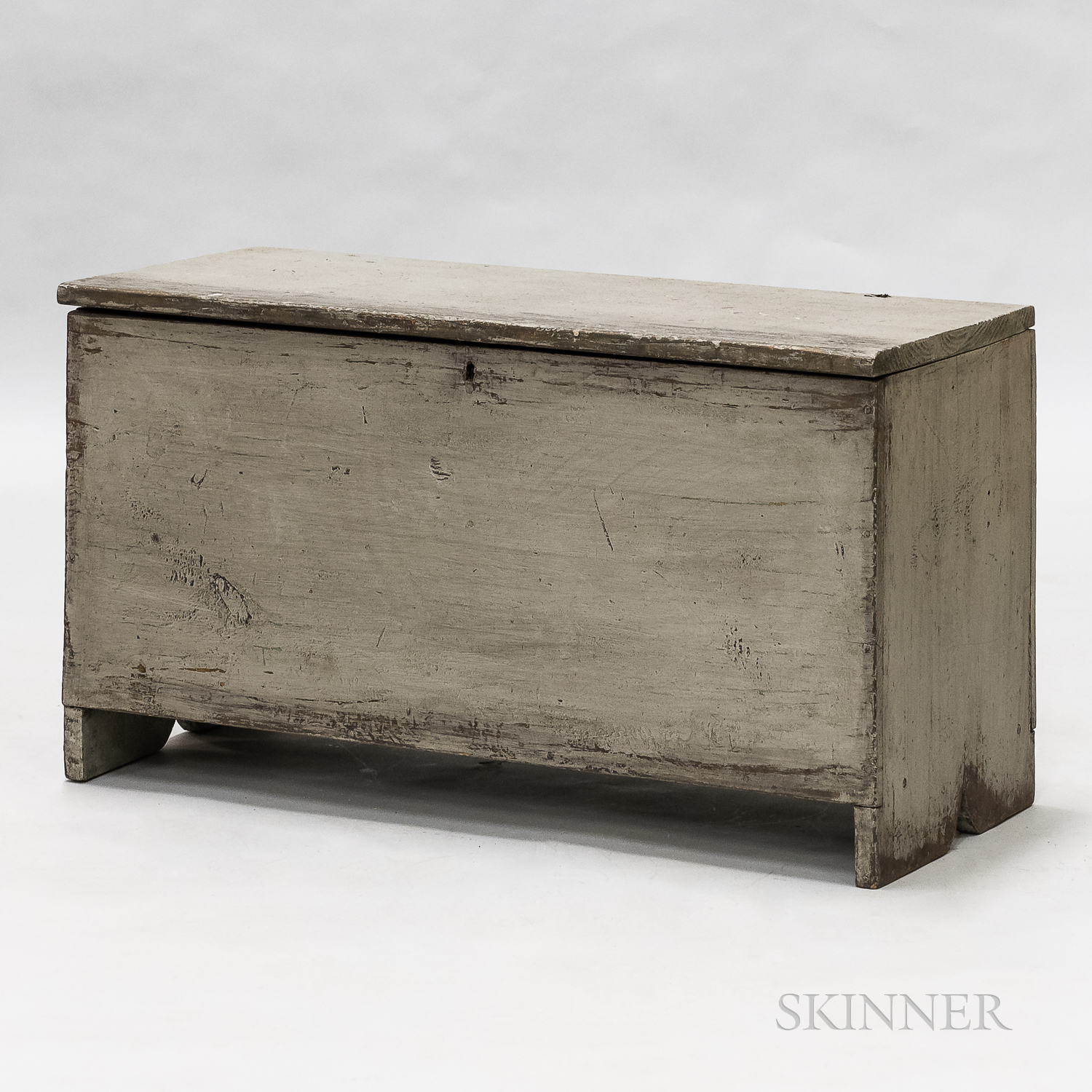 Gray-painted Chest