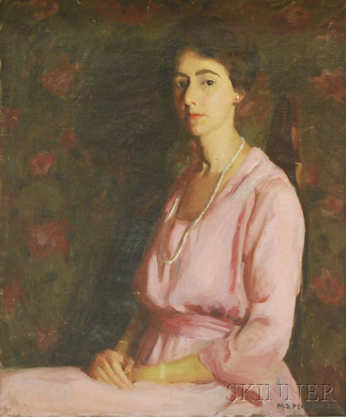 Marguerite Stuber Pearson (American, 1898-1978)      Portrait of a Woman.