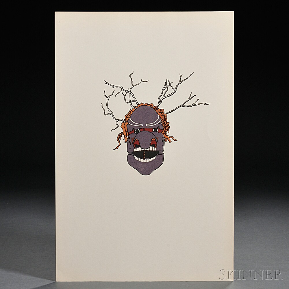 Inverarity, Robert Bruce (1909-1999) Movable Masks and Figures of the North Pacific Coast Indians.