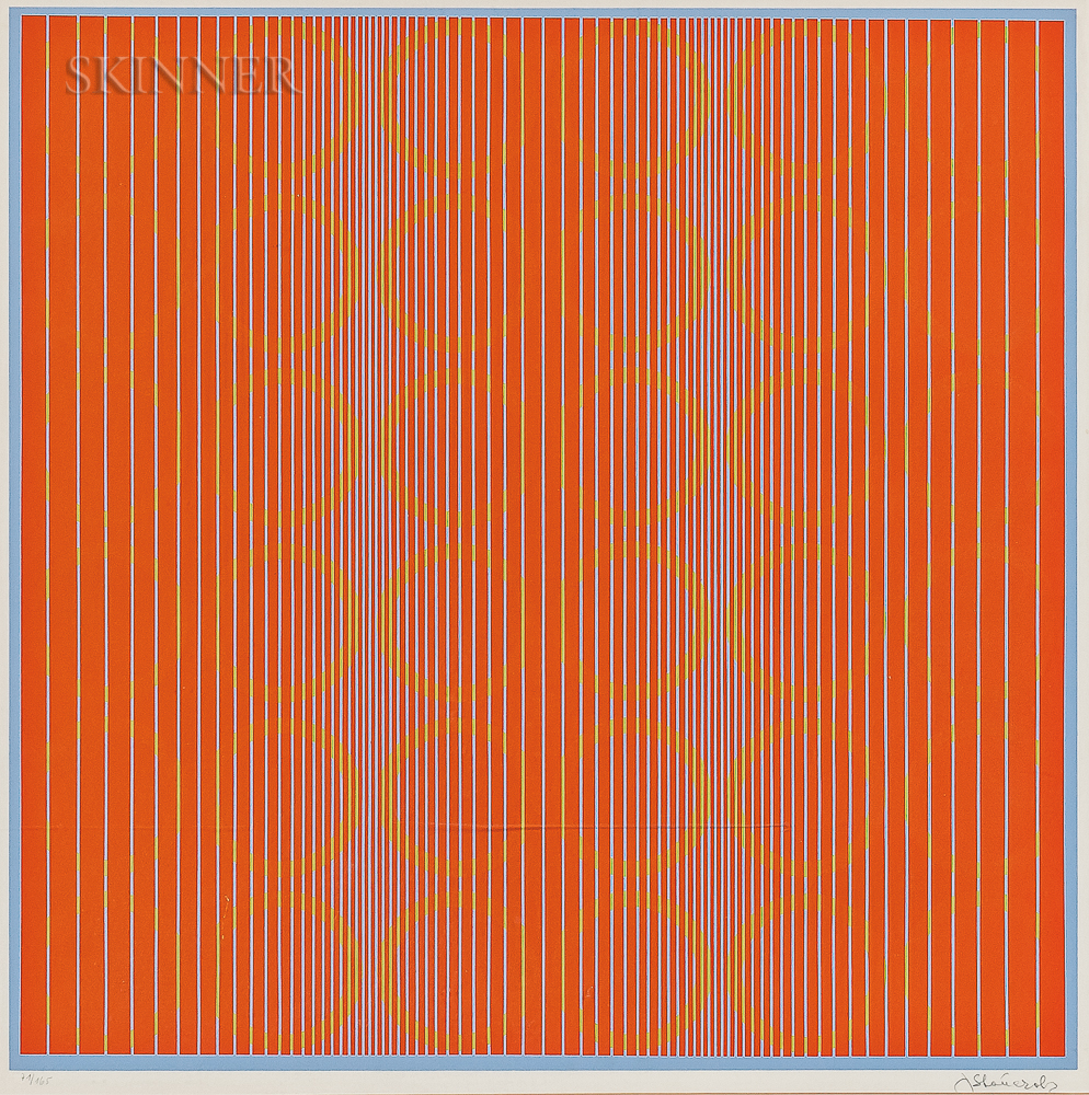 Julian Stanczak (Polish/American, 1928-2017)      Untitled