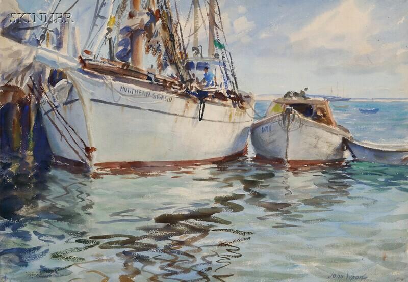 John Whorf (American, 1903-1959)      The Vessel Northern Sword
