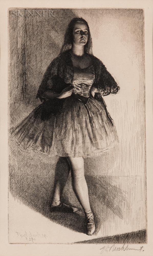 Gerald Leslie Brockhurst (British, 1890-1978)      The Dancer