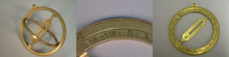 Brass Equinoctial Ring Dial by Richard Rust