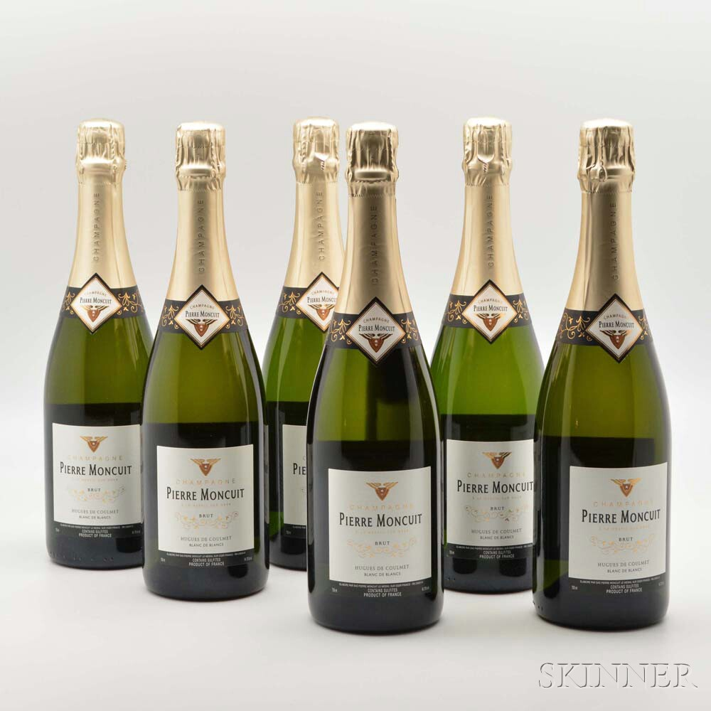 Pierre Moncuit Blanc de Blancs NV, 6 bottles