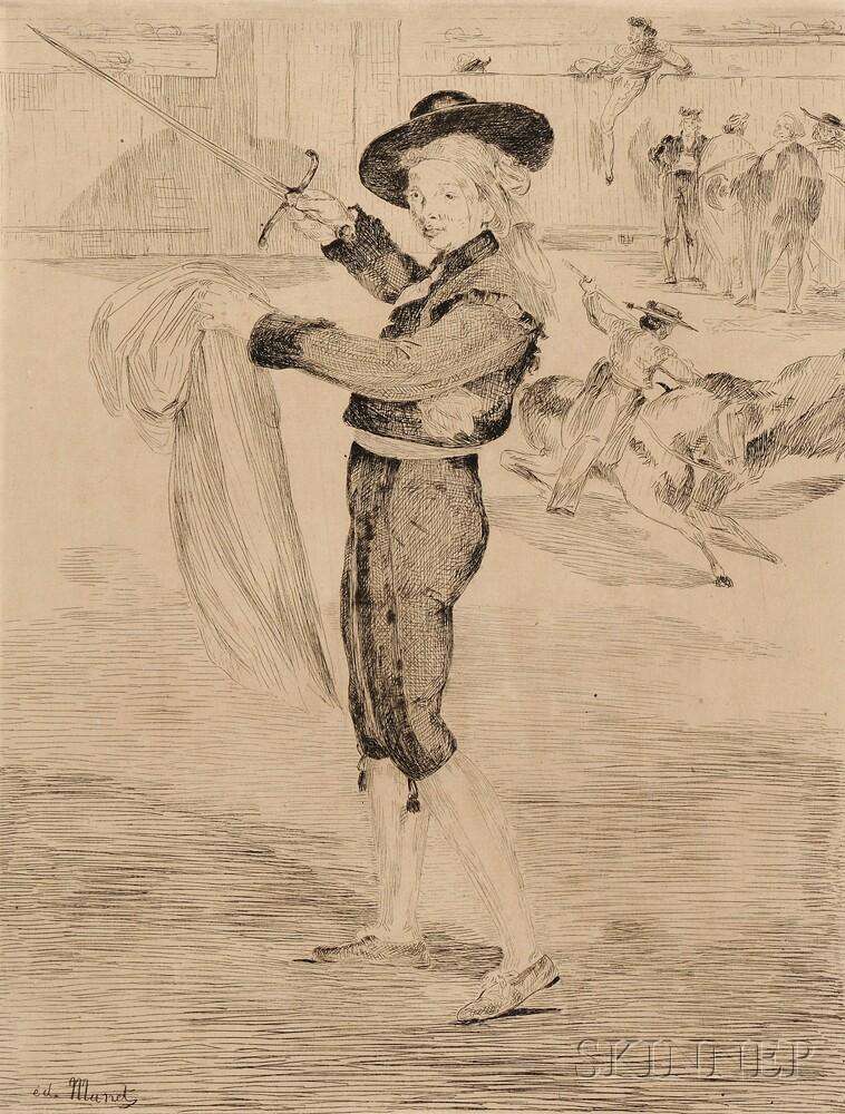 Édouard Manet (French, 1832-1883)      Victorine Meurand en costume d'espada (L'espada)