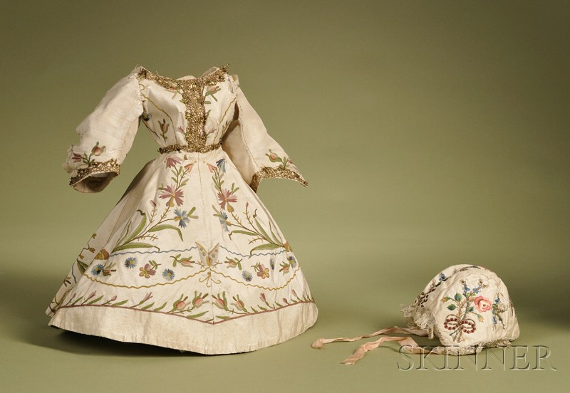 Embroidered Doll Costume