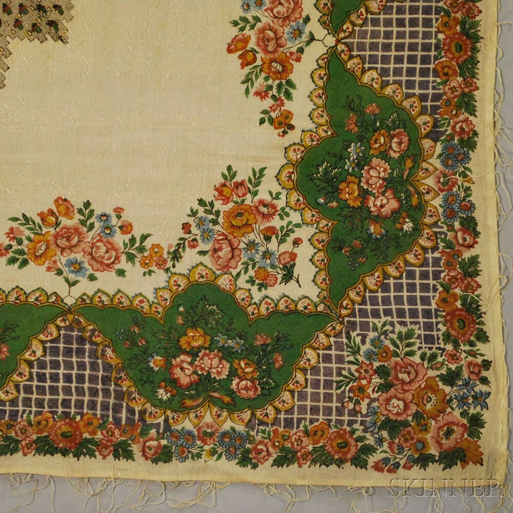 Eight Continental Printed Textiles