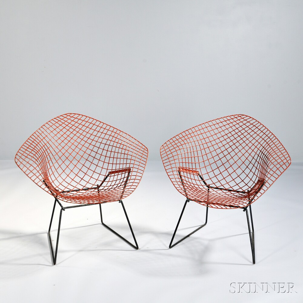 Pair of Harry Bertoia (1915-1978) Chairs