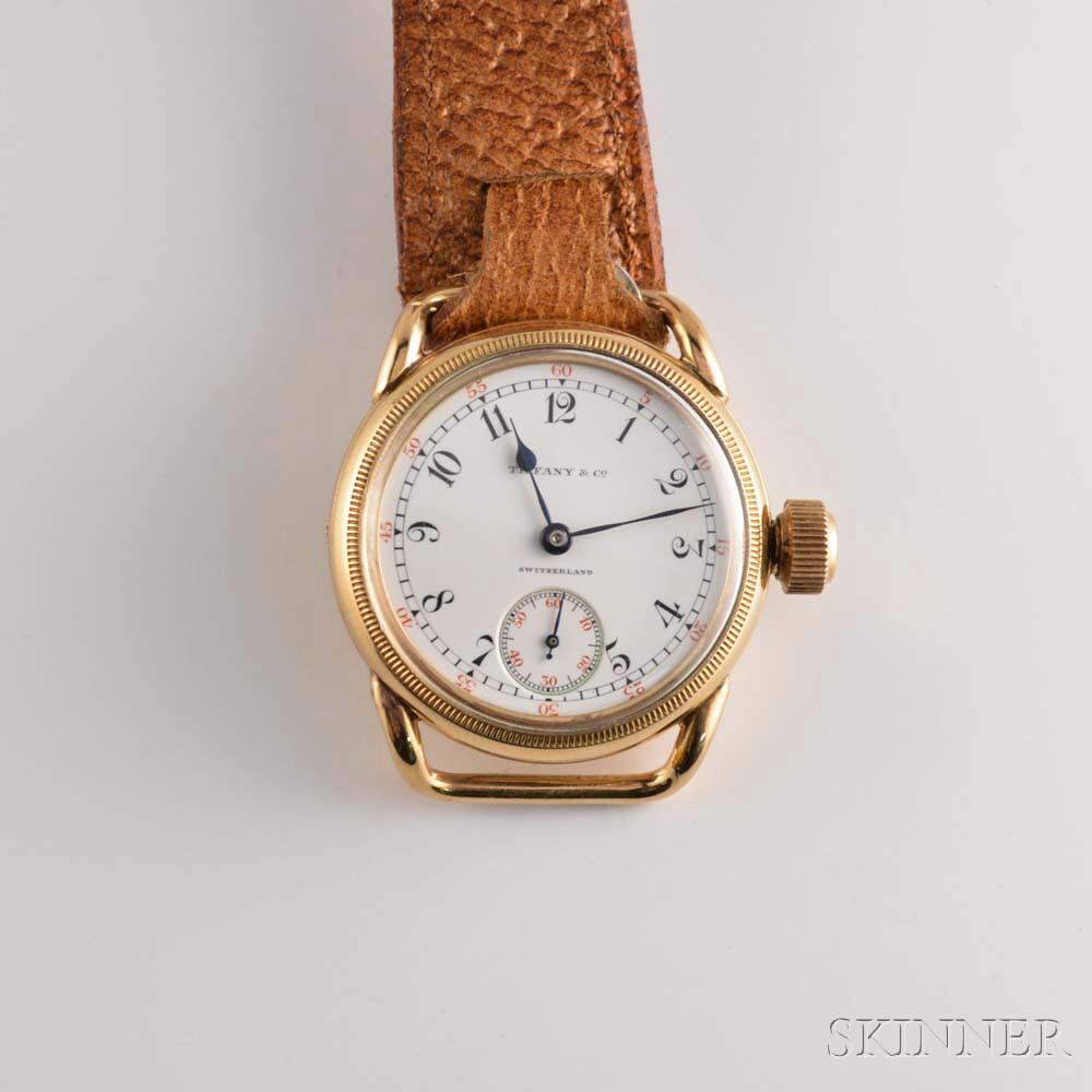Tiffany & Co. 10kt Gold Wristwatch