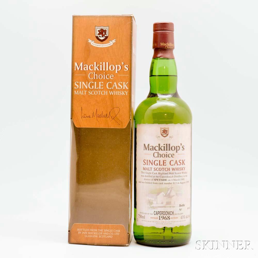 Caperdonich 31 Years Old 1968, 1 bottle