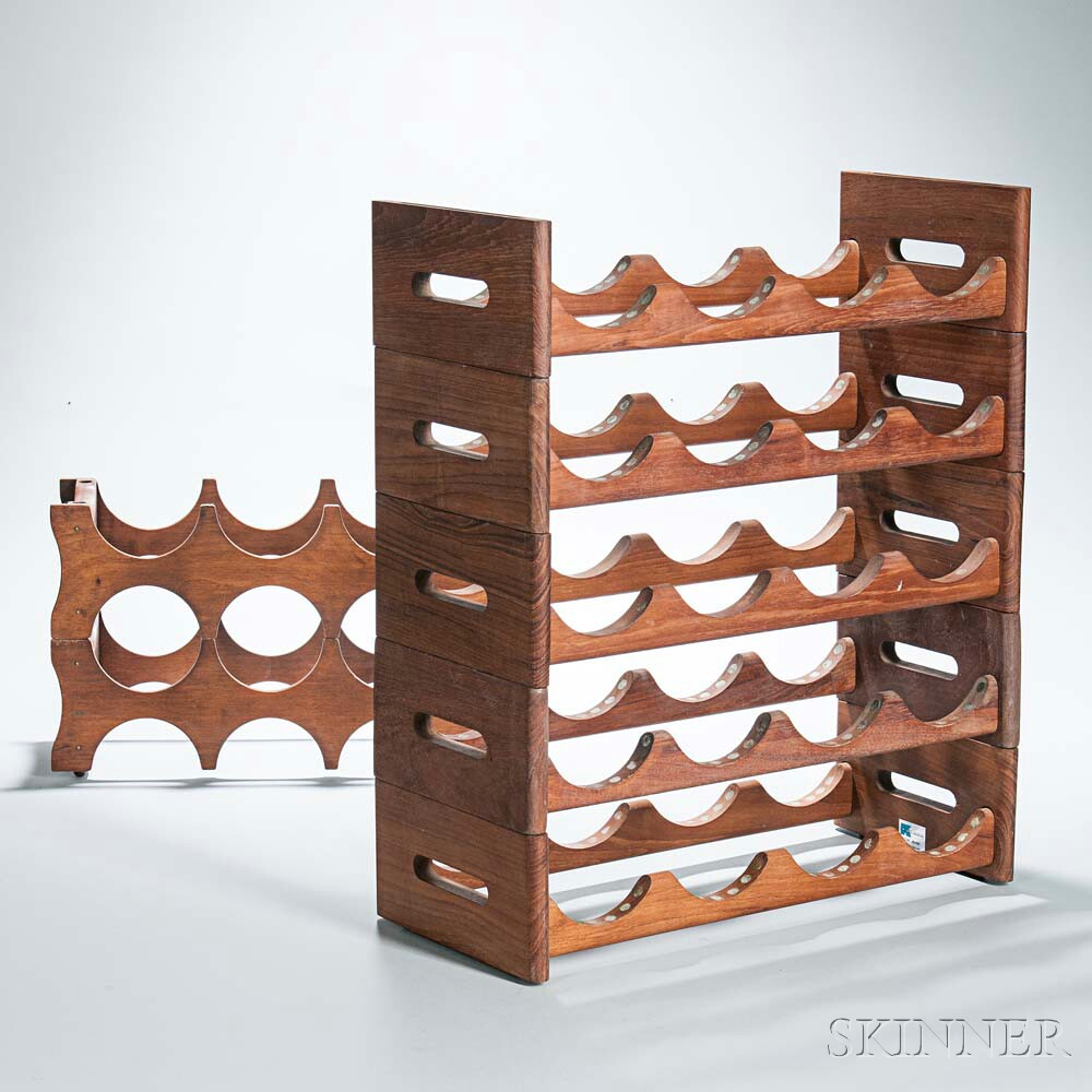 Two Stacking Wine Racks