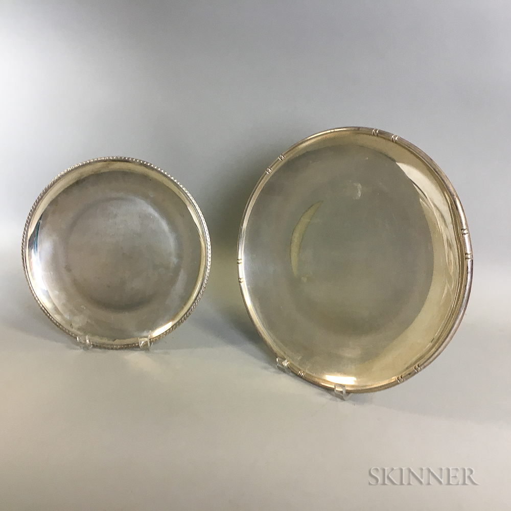 Two B&M Sterling Silver Dishes