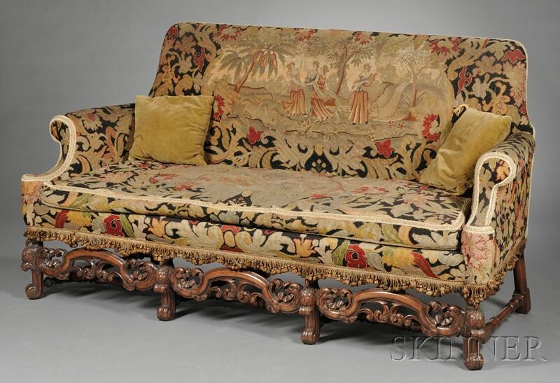 Tapestry Upholstered Sofa