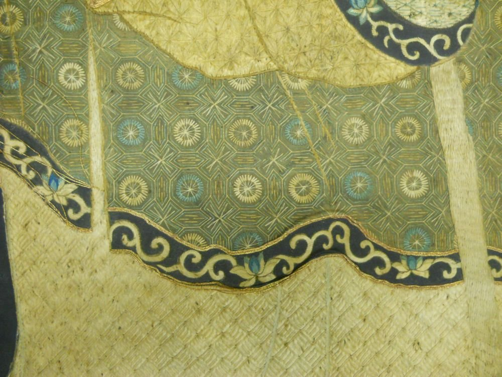 Hanging Scroll Embroidery Painting