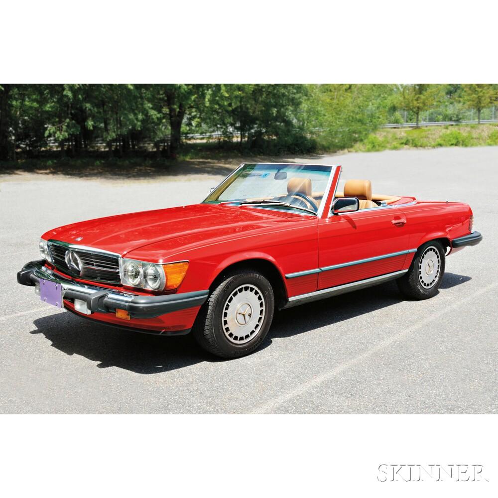 1987 Mercedes Benz, 560SL | Sale Number 2838M, Lot Number ...