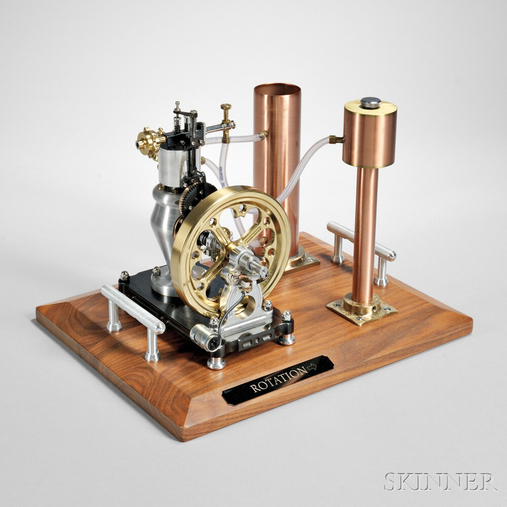 Victorian stationary engine sale number 2890m lot for Stationary motors for sale