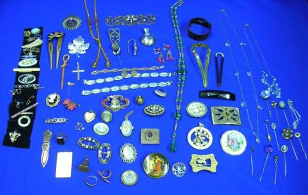 Lot of Miscellaneous Victorian and Later Jewelry.Lot of Miscellaneous...
