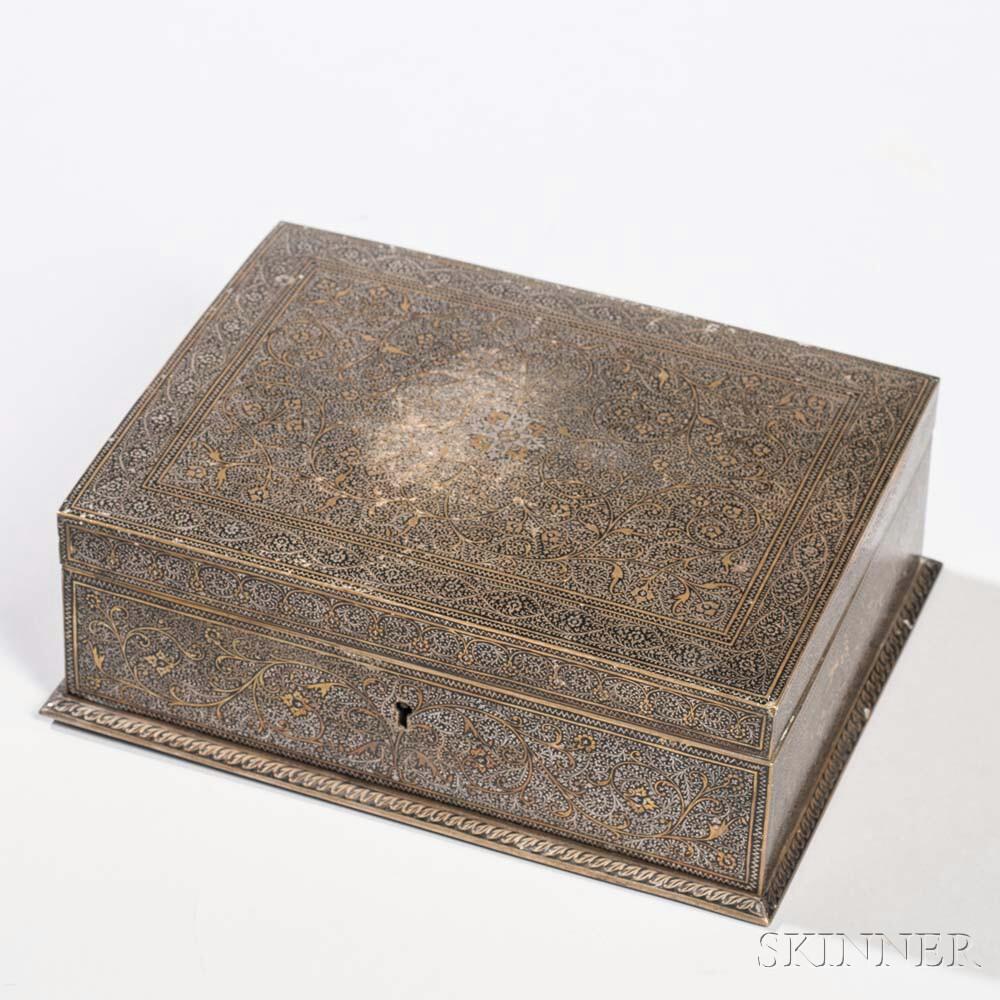 Brass Damascene Box