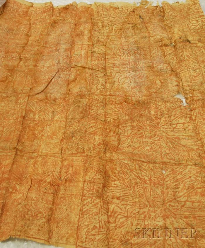 South Pacific Tapa Cloth.
