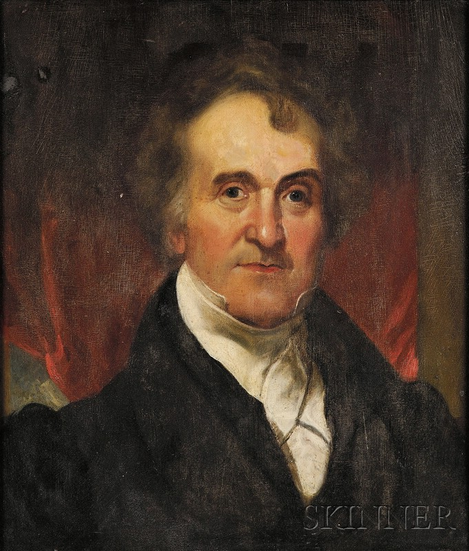 Attributed to Henry Inman (American, 1801-1846)      Portrait of William Wirt, Ninth Attorney General of the United States.