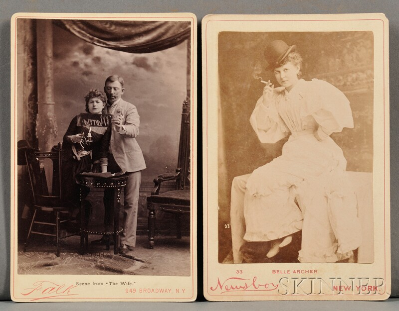 Cabinet Photographs of Actors.