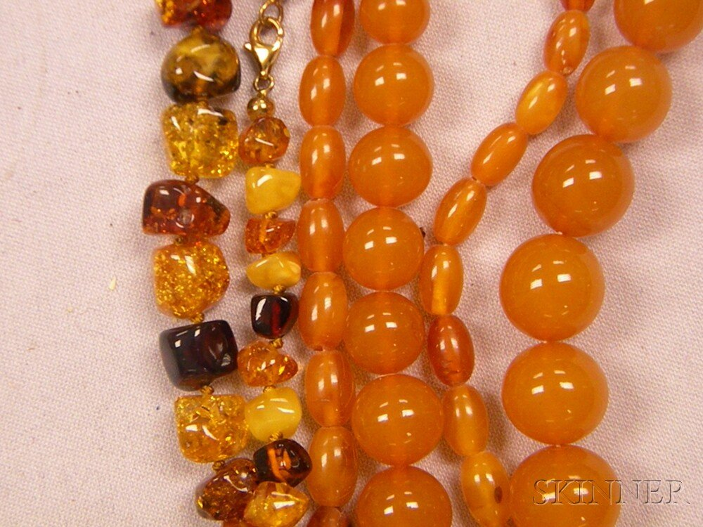 Group of Amber Jewelry