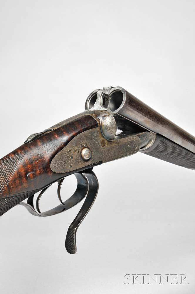 Pair of James Woodward & Sons Snap-action Sidelock 12 Gauge Double-barrel Shotgun