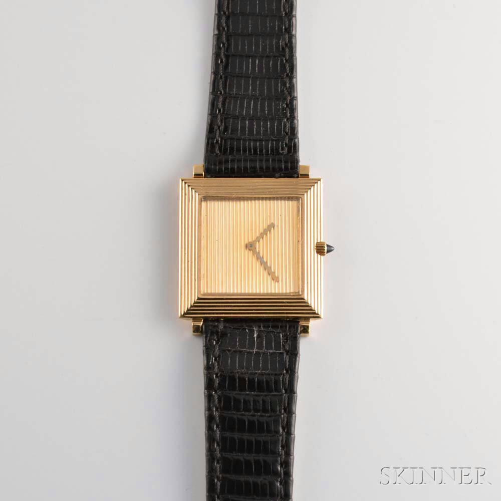 Lady's Boucheron 18kt Gold Wristwatch