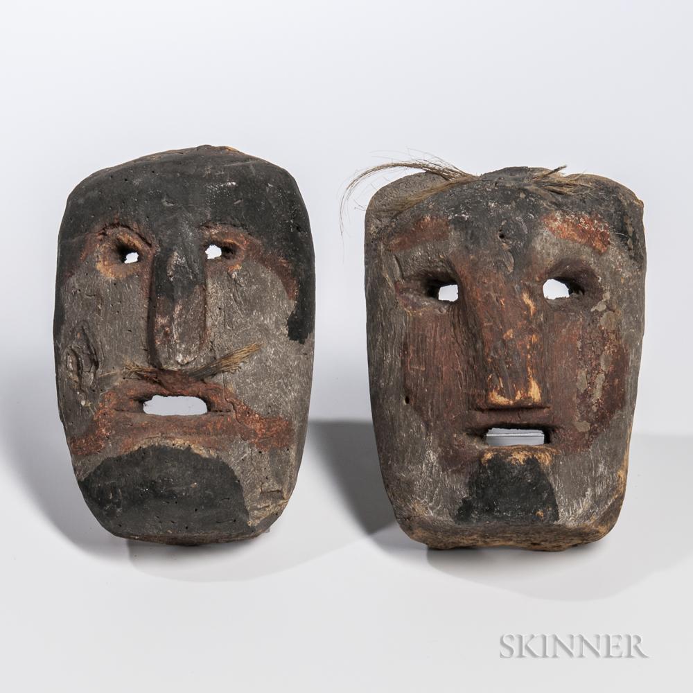 Two Tibetan Masks
