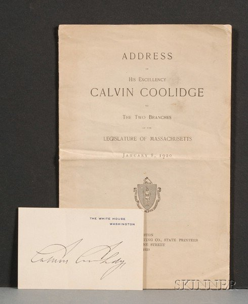 Coolidge, Calvin (1872-1933)