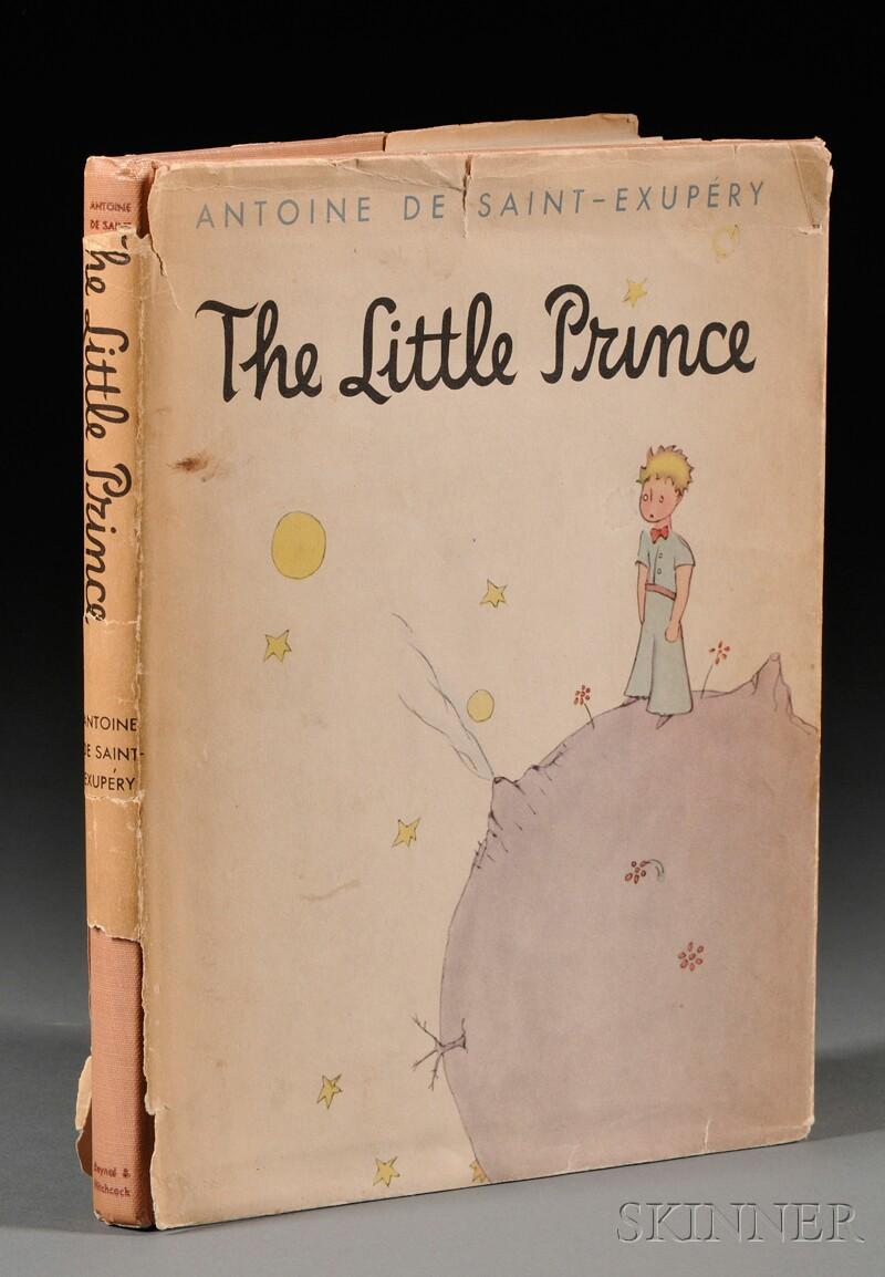 Saint-Exupery, Antoine de (1900-1944), Signed Copy