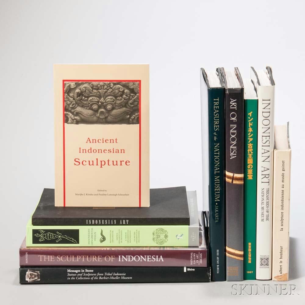 Ten Books on Indonesian Art