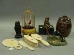 Nine Assorted Decorative Items