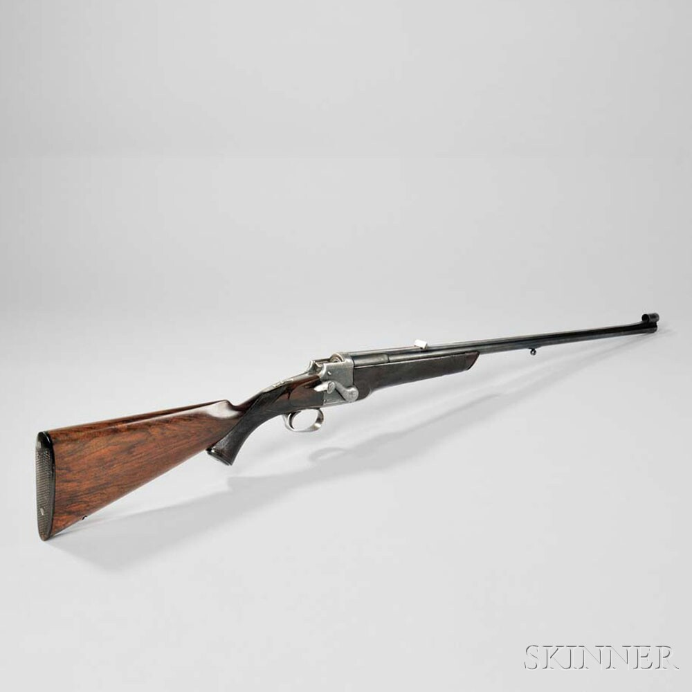 Daniel Fraser Sidelever Falling Block Rifle