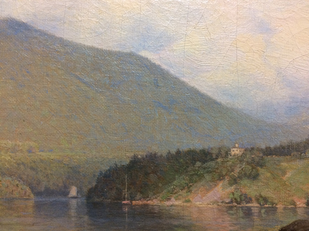 Frank Anderson (American, 1844-1891)      View of the Hudson at West Point